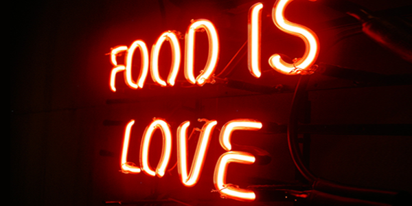 Food is Love (Image Credit: Dan4th Nicholas)