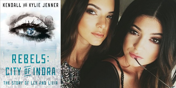 REBELS: CITY OF INDRA (Image Credit: Karen Hunter Publishing) / Kendall and Kylie Jenner (Image Credit: Instagram/Kylie Jenner)