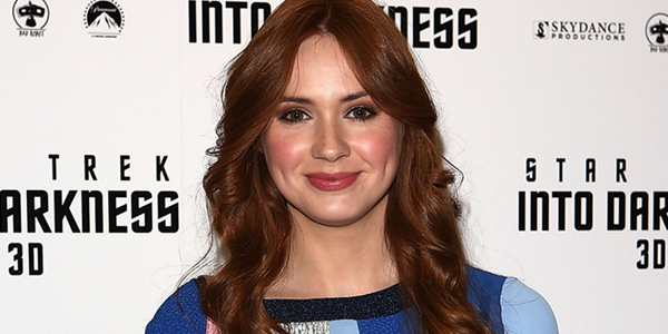Karen Gillan attends the IMAX 3D Premiere of STAR TREK INTO DARKNESS at BFI IMAX (Image Credit: Tim P. Whitby/Getty Images for Paramount Pictures)