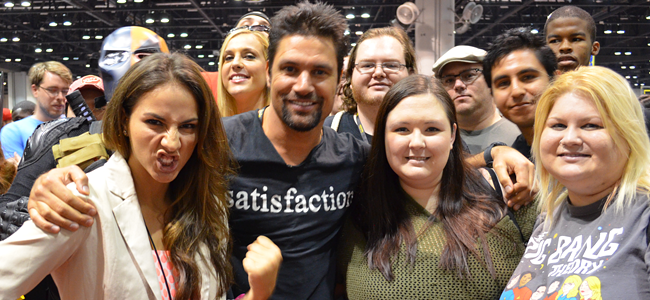 Manu Bennett (Image Credit: Victor Mascitelli/The Daily Quirk)