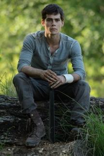 Dylan O'Brien in THE MAZE RUNNER (Image Credit: Ben Rothstein/20th Century Fox)