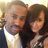 Big Sean and Naya Rivera (Image Credit: Naya Rivera/Instagram)