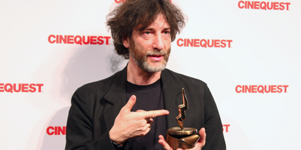 Neil Gaiman (Image Credit: Franko-Niko Valencia/The Daily Quirk)