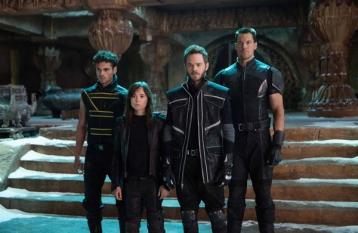 Adan Canto, Ellen Page, Shawn Ashmore and Daniel Cudmore in X-MEN: DAYS OF FUTURE PAST (Image Credit: Alan Markfield/Twentieth Century Fox)