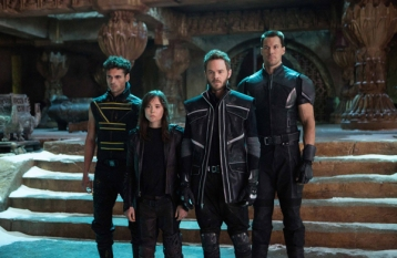 Adan Canto, Ellen Page, Shawn Ashmore and Daniel Cudmore in X-MEN: DAYS OF FUTURE PAST (Image Credit: Alan Markfield/Twentieth Century Fox)