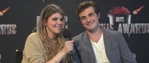 Molly Tarlov and Beau Mirchoff of AWKWARD. (Image Credit: MTV)