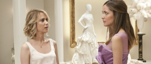 Kristen Wiig and Rose Byrne in BRIDESMAIDS (Image Credit: Universal Pictures)