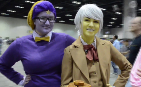 Cosplayers at Megacon (Image Credit: Victor Mascitelli/The Daily Quirk)