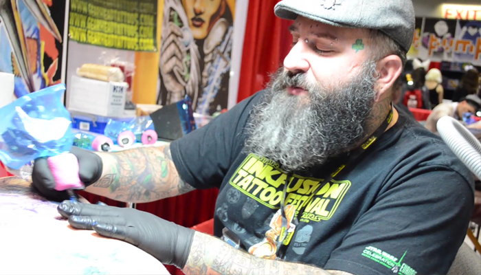 Kelly Rogers of INK FUSION TATTOO FESTIVAL (Image Credit: Victor Mascitelli/The Daily Quirk)