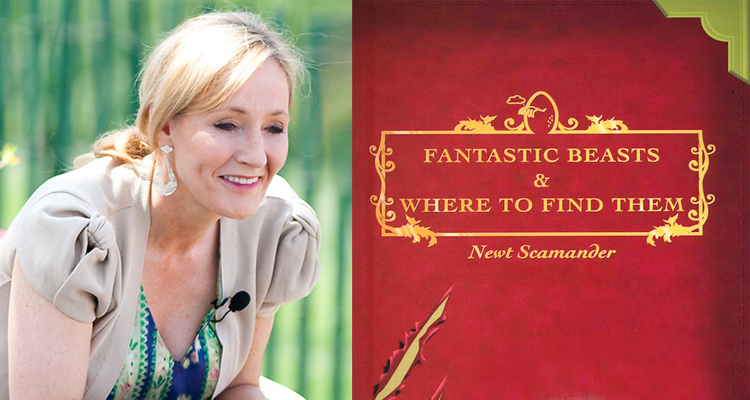 J.K. Rowling (Image Credit: Daniel Ogren) / FANTASTIC BEASTS AND WHERE TO FIND THEM (Image Credit: J.K. Rowling)
