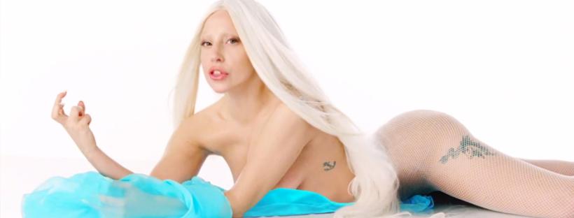 Lady Gaga in the video for G.U.Y. (Image Credit: Lady Gaga/Interscope)