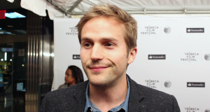 Michael Stahl-David on the IN YOUR EYES Red Carpet (Image Credit: Sean Torenli / The Daily Quirk)