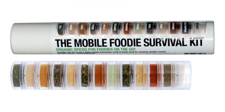 The Mobile Foodie Survival Kit (Image Credit: PLANT)