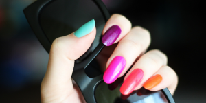 Neon Nails (Image Credit: Katya Zoom)