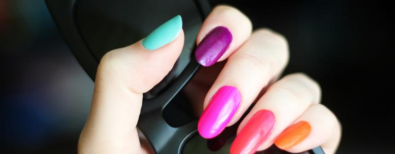 Neon Nails (Image Credit: Katya Zoom)