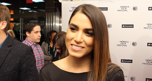 Nikki Reed on the IN YOUR EYES Red Carpet (Image Credit: Sean Torenli / The Daily Quirk)
