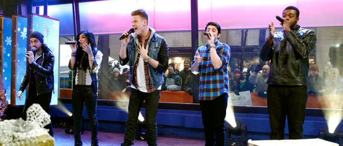 Pentatonix appears on NBC News' TODAY show (Image Credit: Peter Kramer/NBC)