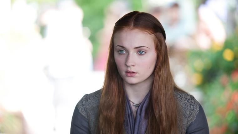 Sophie Turner as Sansa Stark in GAME OF THRONES (Image Credit: HBO)
