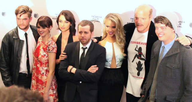 The Cast & Director of ZOMBEAVERS (Image Credit: Sean Torenli / The Daily Quirk)