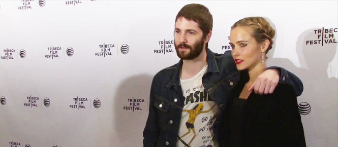 Jim Sturgess and Isabel Lucas on the red carpet of ELECTRIC SLIDE (Image Credit: Dan Maiorana / The Daily Quirk)