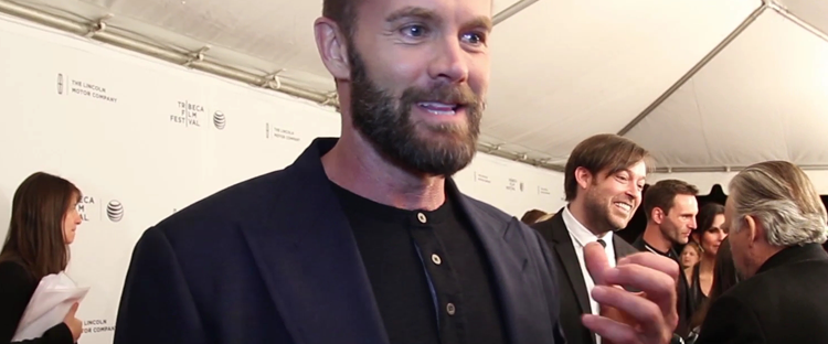 Garret Dillahunt on the red carpet of JUST BEFORE I GO (Image Credit: Tara Robinson / The Daily Quirk)