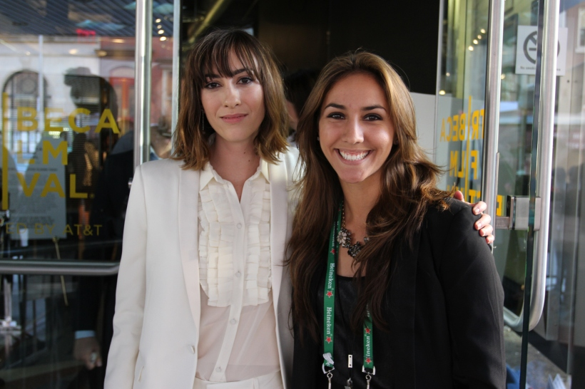 Gia Coppola and TDQ Correspondent Kelsey Cortez (Image Credit: Tara Robinson / The Daily Quirk)