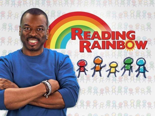 LeVar Burton for READING RAINBOW (Image Credit: READING RAINBOW Kickstarter Campaign)