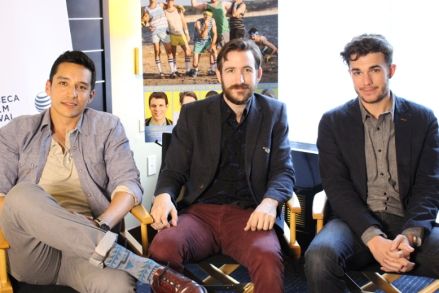 Gabriel Luna, Brian McElhaney and Nick Kocher of INTRAMURAL (Image Credit: Sean Torenli / The Daily Quirk)