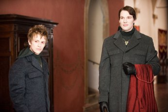 Charlie Bewley & Daniel Cudmore in TWILIGHT: NEW MOON (Image Credit: Summit Entertainment)