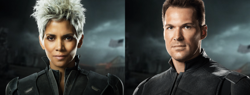 Halle Berry as Storm and Daniel Cudmore as Colussus for X-MEN: DAYS OF FUTURE PAST (Image Credit: Twentieth Century Fox)