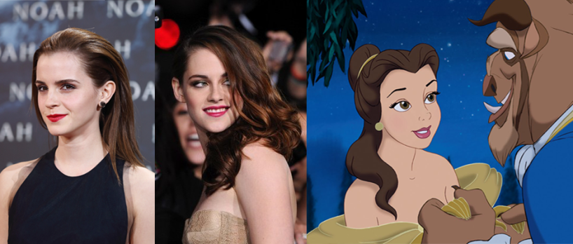 Emma Watson (Image Credit: Andreas Rentz/Getty Images for Paramount Pictures) / Kristen Stewart (Image Credit: MyAlexis) / BEAUTY & THE BEAST (Image Credit: Walt Disney Pictures)