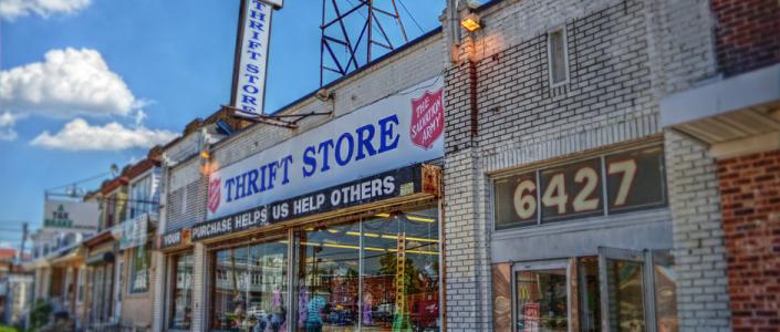 Thrift Store (Image Credit: J.D. Thomas)