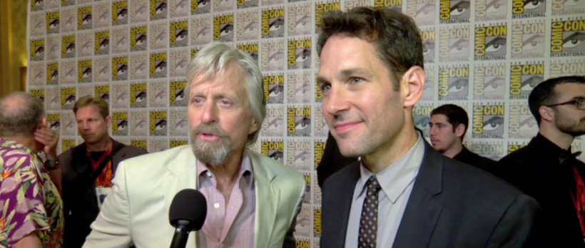 Michael Douglas and Paul Rudd for ANT-MAN (Image Credit: Walt Disney Pictures)