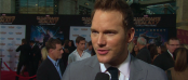 Chris Pratt on the GUARDIANS OF THE GALAXY Red Carpet (Image Credit: Walt Disney Pictures)