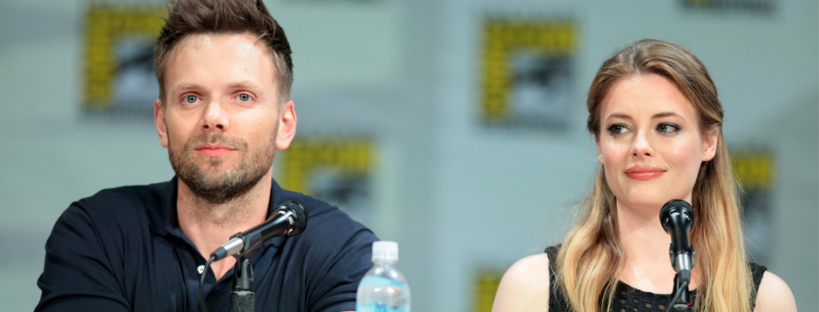 Joel McHale and Gillian Jacobs for COMMUNITY (Image Credit: Gage Skidmore)