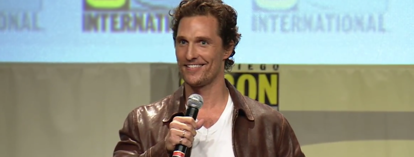 Matthew McConaughey for INTERSTELLAR (Image Credit: SDCC/Paramount)