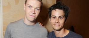 Will Poulter and Dylan O'Brien for THE MAZE RUNNER (Image Credit: 20th Century Fox)