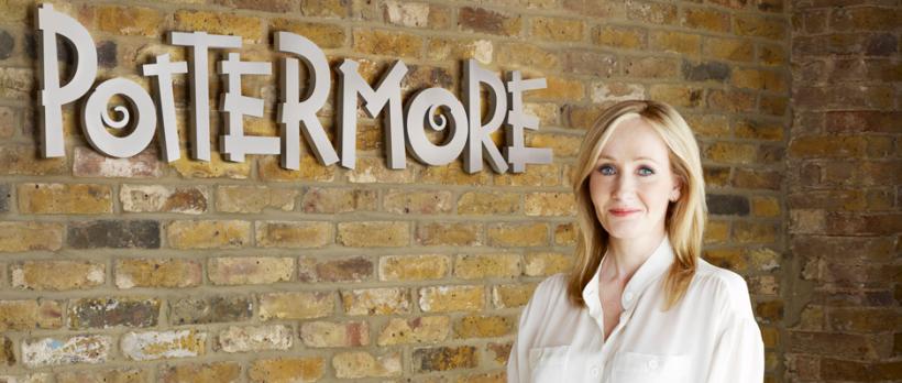 JK Rowling (Image Credit: Pottermore)