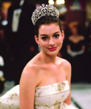 Anne Hathaway in THE PRINCESS DIARIES (Image Credit: Disney Pictures)