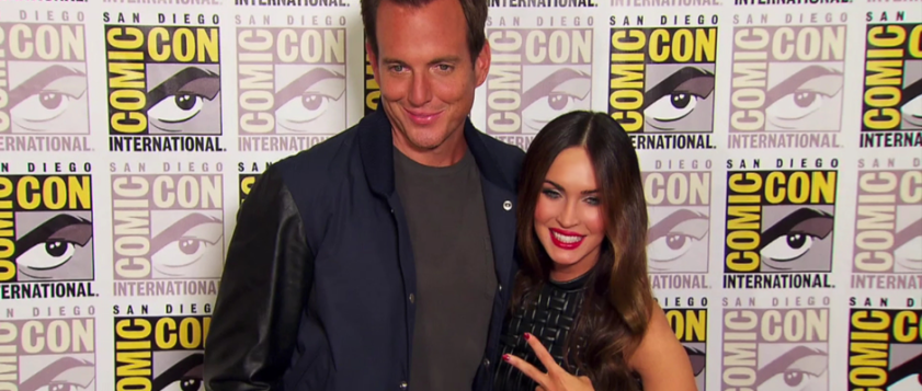 Will Arnett and Megan Fox for TEENAGE MUTANT NINJA TURTLES (Image Credit: FOX)