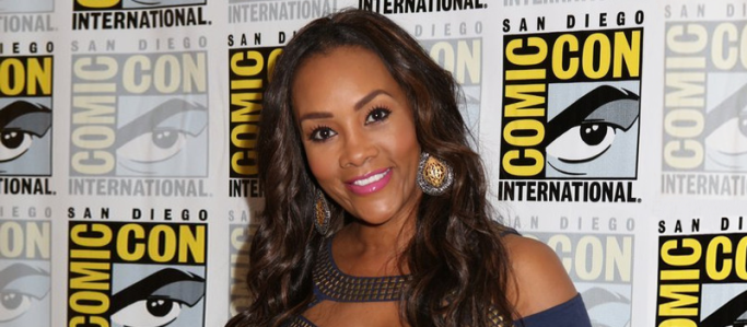 Vivica A. Fox for SHARKNADO 2: THE SECOND ONE (Image Credit: NBCUniversal)