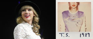 Taylor Swift (Image Credit: Jana Zills) / 1989 Album Cover (Image Credit: Big Machine Records)