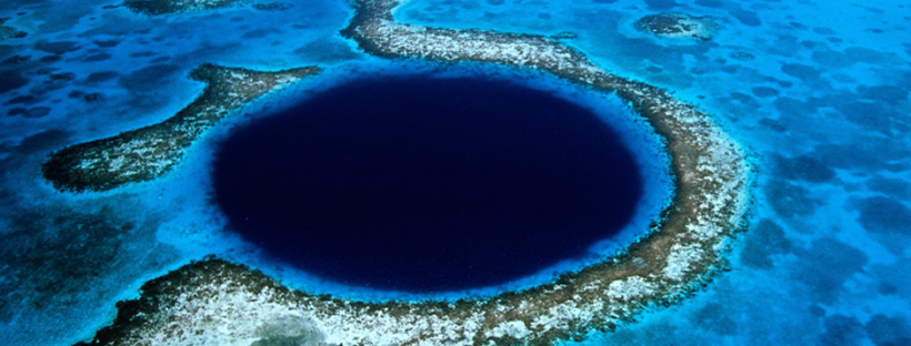 The Great Blue Hole (Image Credit: Eric Pheterson)