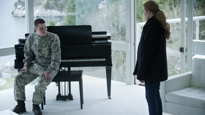 Tyler Ross and Mireille Enos in THE KILLING (Image Credit: Netflix)