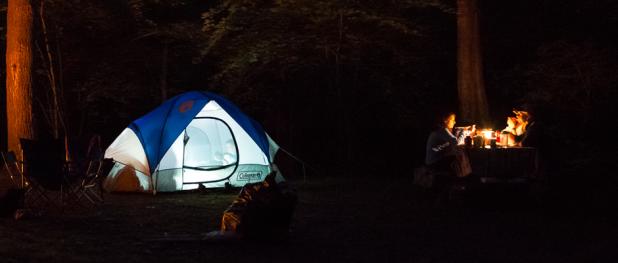 Camping (Image Credit: Robert S. Donovan)