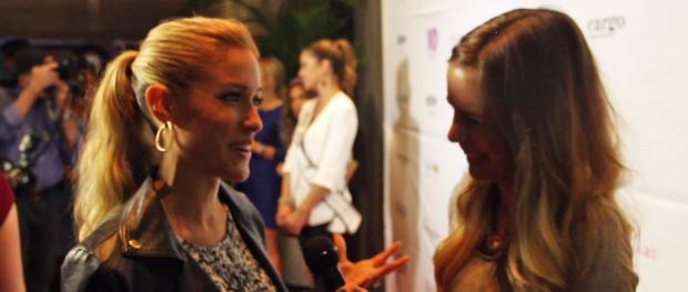 Kristin Cavallari with TDQ Correspondent Tara Robinson (Image Credit: Shawn Robinson / The Daily Quirk)