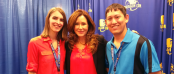 TDQ Correspondents Chelsie Skroback & Brian Skroback with Mary McDonnell (Image Credit: Brian Skroback / The Daily Quirk)