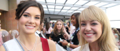 Miss Teen USA 2014 K. Lee Graham and TDQ Correspondent Lauren Gambino (Image Credit: Sean Torenli / The Daily Quirk)