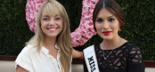 TDQ Correspondent Lauren Gambino with Miss Universe 2014 Gabriela Isler (Image Credit: Sean Torenli / The Daily Quirk)