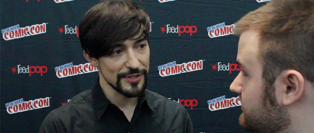 Blake Ritson for DA VINCI'S DEMONS (Image Credit: Sean Torenli / The Daily Quirk)